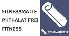 Fitnessmatte Phthalat frei Fitness Workout