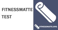 der große Fitnessmatte Test