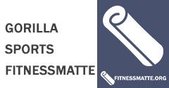 Gorilla Sports Fitnessmatte