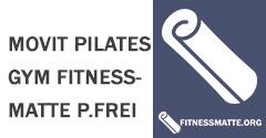 MOVIT Pilates Gym Fitnessmatte phthalatfrei